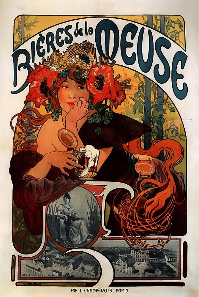 Bieres De La Meuse 1897